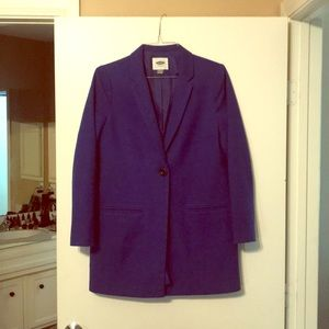 Beautiful Royal Blue ladies coat